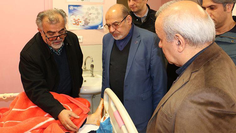 اعزام تیم پزشکی موسسه خیریه محکم به ایلام در آذر ۹۸