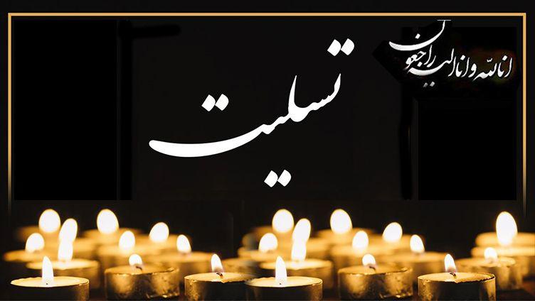 پیام تسلیت دکتر دلشاد برای همسر بزرگوار مرحوم حاج سیدعبدالمهدی آل طعمه موسوی
