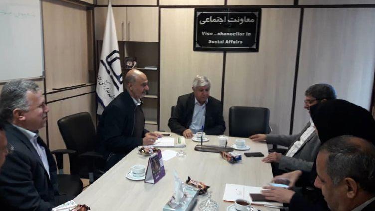 معاون اجتماعی دانشگاه جندی شاپور اهواز از فعالیتهای ارزشمند مؤسسه خیریه محکم تقدیر نمودند.